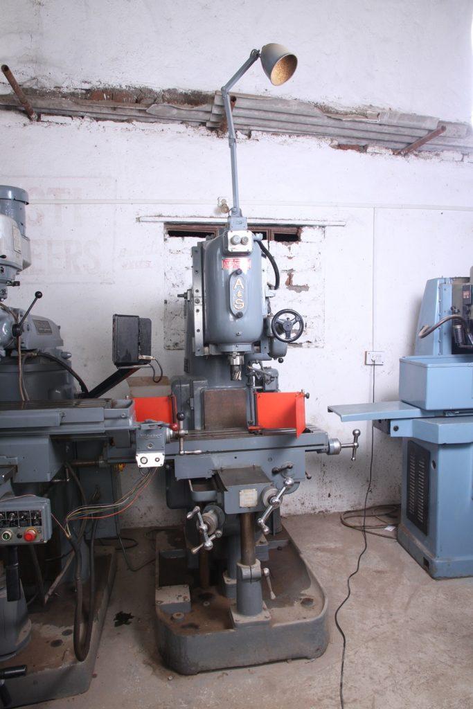 Adcock Shipley Milling Machine