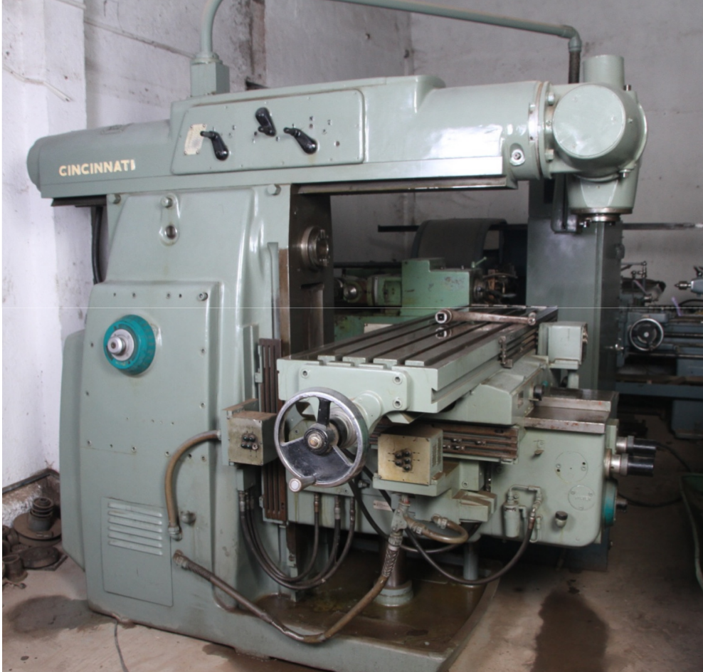 cincinnati 315 no.3 universal milling machine