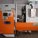 Nakamura TMC4 CNC turning lathe Fanuc 6T